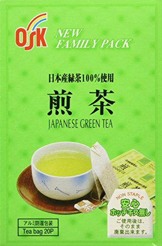 OSK Japanese Green Tea, Original Authentic Japan Product 20 Tea Bags