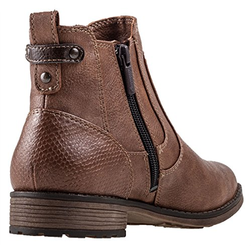 Mustang Boots Ankle Womens Boot Chelsea HwTq40pH