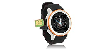 CELLYS - Montre Connectée Sport GPS WiFi 3G Waterproof - Orange