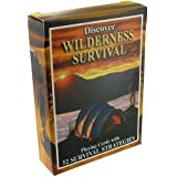 SEA and SKY Discover Wilderness Survival Playing Cards