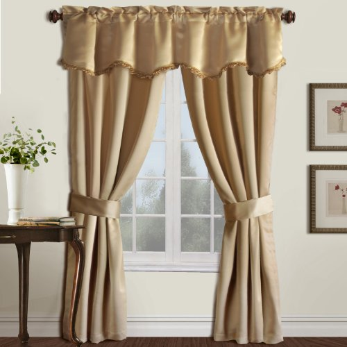 American Curtain and Home Wilmington 5-Piece Window Treatmen