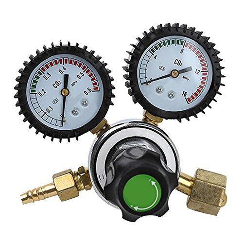 CO2 Regulator Two Stage Carbon Dioxide Pressure Regulator Pressure Reducing Valve