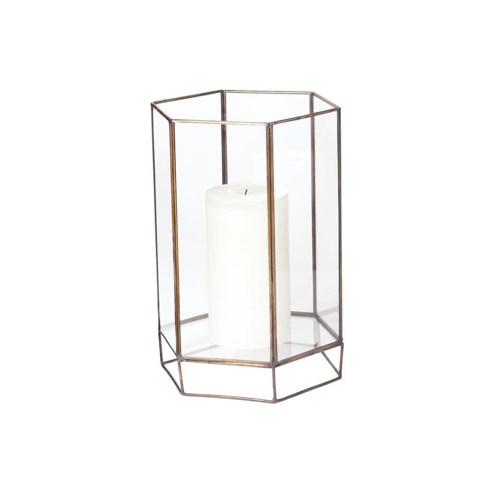 Dimond Home Small Glass Oriel Hurricane