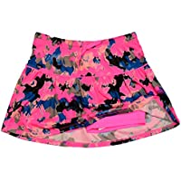 PUMA Girls Athletic Tennis Skort Running Active Yoga Gym Mesh Activewear Shorts