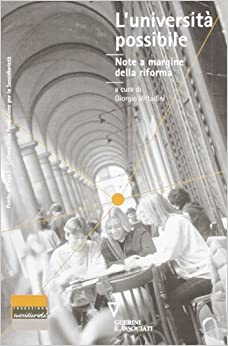 Book L'università possibile. Note a margine della riforma