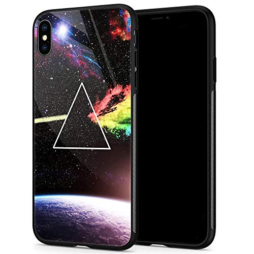 90ae77b888a iPhone XR Case,9H Tempered Glass iPhone XR Cases for Men Boys,Cool Pink