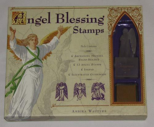- Angel Blessing Stamp Set Archangel Michael Holder 12 Stamps Boxed