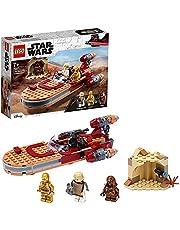 LEGO 75271 Star Wars Luke Skywalkers Landspeeder Bouwset met Poppetjes uit de New Hope Filmserie voor Kinderen van 7 Jaar en Ouder