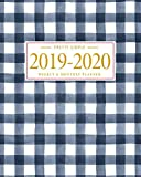 Pretty Simple Planners 2019 - 2020 Planner Weekly and Monthly: Calendar Schedule + Academic Organizer | Inspirational Quotes and Gingham Cover | July ... July 2020 (2019-2020 Pretty Simple Planners)