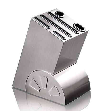 Bloque de cuchillos universal Porta cuchillos de acero ...