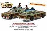 """1979 Family Truckster """"Wagon Queen"""" with Aunt Edna """"National Lampoon's Vacation"""" Movie (1983) 1/64 by Greenlight 44750 A"""