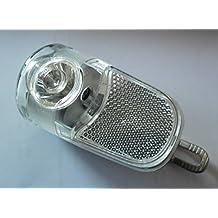 Bike headlight 3W 300 Lumen 2 x AA battery waterproof bike front reflector flashlight