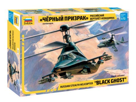 (Zvezda 7232 - Russian Stealth Helicopter KA-58