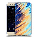 Official Andi Greyscale Two Sides of One Extreme Abstract Marbling Soft Gel Case Compatible for Huawei P10 Lite