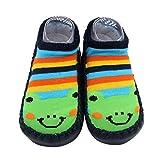 Sunward Unisex Baby Cute Cartoon Kids Toddler Baby Anti-slip Sock Boots Slipper Shoes (12~18 M, multicolor)
