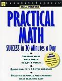 Practical Math Success in 20 Minutes a Day, Judith Robinovitz, 157685129X