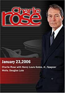 Charlie Rose with Henry Louis Gates, Jr.; Spencer Wells; Douglas Lute (January 23,2006)