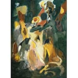 Perfect effect Canvas ,the High quality Art Decorative Prints on Canvas of oil painting 'Arshile Gorky - Waterfall, 1943', 8x11 inch / 20x28 cm is best for gift for girl friend and boy friend and Home decor and Gifts