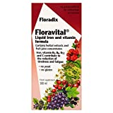 Flora, Floravital Iron Herbs, 17 Fl Oz