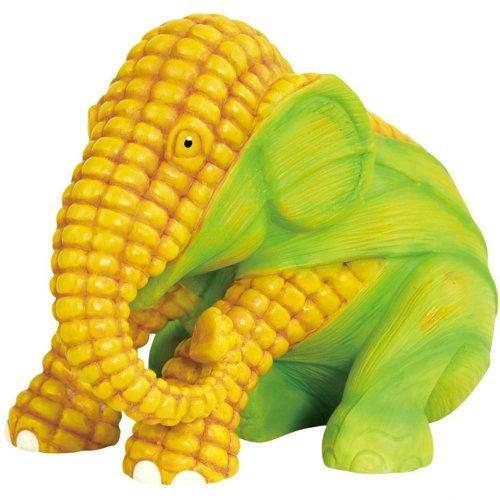 Westland Giftware Elephant Parade Figurine, 4.5-Inch High, Corn
