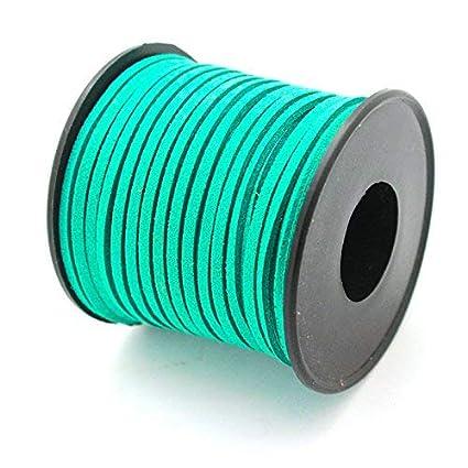 Azul Oscuro 25Metros Bobina Cordon de Antelina 3mm ARTESTAR