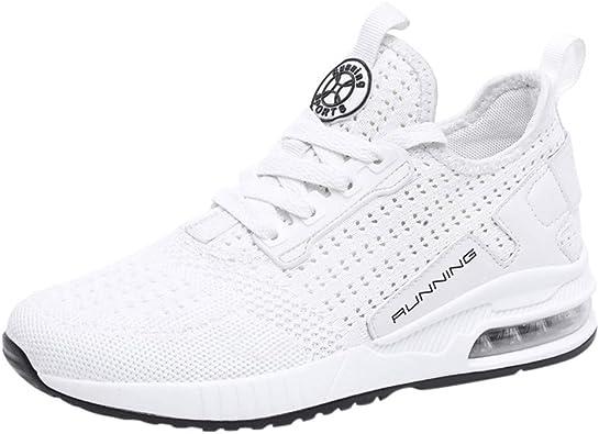Darringls Zapatos de Running para Hombre Mujer Zapatillas ...