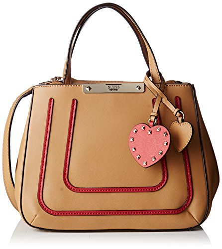 x W Bag cm H L 12x22 Tan Handle Womens Multicolore Hwbo6693050 Top Guess Multi 5x28 5 xpRCCO