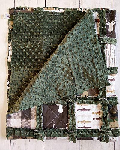 Camo Minky Rag Quilt ()