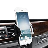Cell Phones Accessories Best Deals - MABRA Universal Car Mount Air Vent Mount Cell Phone Car Holder Smartphones Phone Holder for iPhone 7 Plus SE 6s 6 Plus 6 5s 5 4s 4 Samsung Galaxy S6 S5 S4 LG Nexus Sony Nokia and More