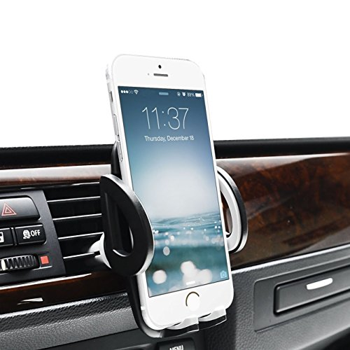 MABRA Universal Car Mount Air Vent Mount Cell Phone Car Holder Smartphones Phone Holder for iPhone 7 Plus SE 6s 6 Plus 6 5s 5 4s 4 Samsung Galaxy S6 S5 S4 LG Nexus Sony Nokia and More (Phone 5 Accessories compare prices)