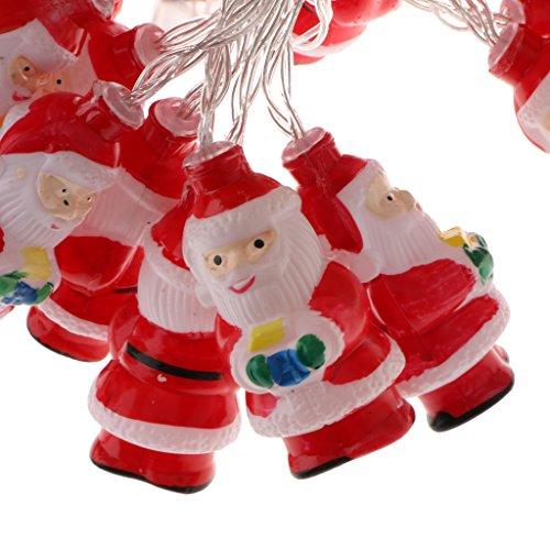 Lampe Plastique Baoblaze De Père Led En Chaîne Noël Lumière IYy6vb7mfg