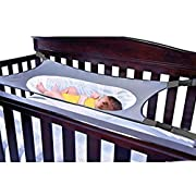 Newborn Baby Hammock for Crib Wombs Bassinet Buckle Strong Oxford Material with Double-Layer Breathable Supportive Mesh 33lbs Capacity Adjustable Straps Absolutely Safe Nursery Bed Travel