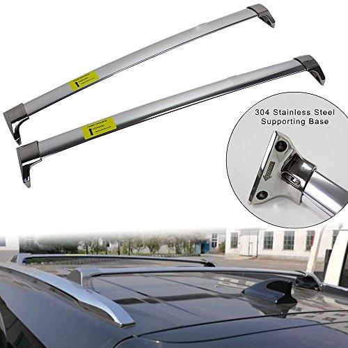 Roof Rack For Honda Acura MDX 2014-2017 Stainless Steel Rail Luggage Carrie Cross Bar