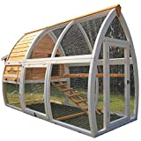 Pets Imperial Dorchester Chicken Coop Hen House Poultry Nest Box Ark Rabbit Hutch Run Larger Image