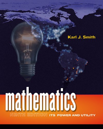 Download Mathematics: Its Power and Utility (Available 2010 Titles Enhanced Web Assign) Pdf