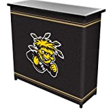Trademark Wichita State Universityt 2 Shelf Portable Bar W/ Case (lrg8000-wsu) -