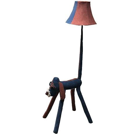 GAIXINGSHOP Lámpara de pie Perro de Dibujos Animados ...