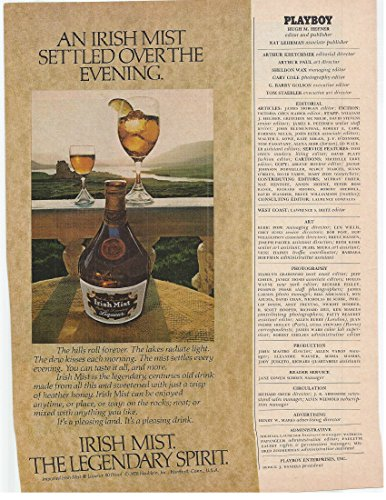1979 Vintage Print Advertisement for Irish Mist - Mist Liqueur