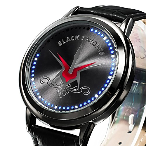 Wildforlife Anime Code Geass: Lelouch of the Rebellion Geass X Black Knights Touch LED Watch