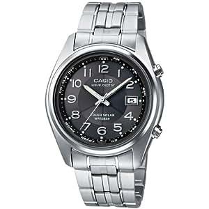 CASIO WVQ-110TDE-1A2ER - Reloj para niñas de cuarzo, correa de titanio color varios colores (con radio, alarma, luz)