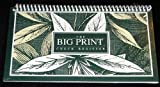 The Big Print Check Register - Spiral Bound
