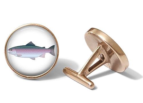 Amazon.com: Trucha arco iris Gemelos Gemelos de pesca ...