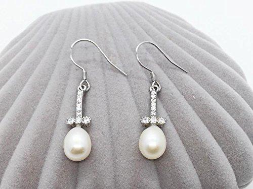 Diamond Cross Mounting - TKHNE Cross 925 silver accessories earrings diamond earrings pearl earrings white fungus hook mountings parts ear hook