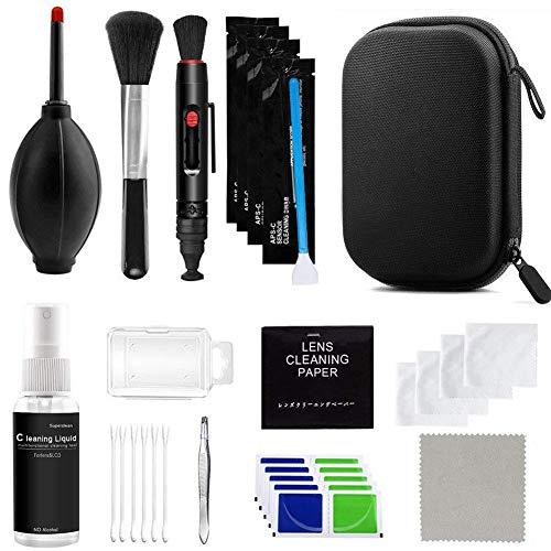Camera Cleaning Kit, Professionele DSLR Camera Lens Cleaning Kit Apparatuur Penseel Schone Droger Fles Gereedschap…