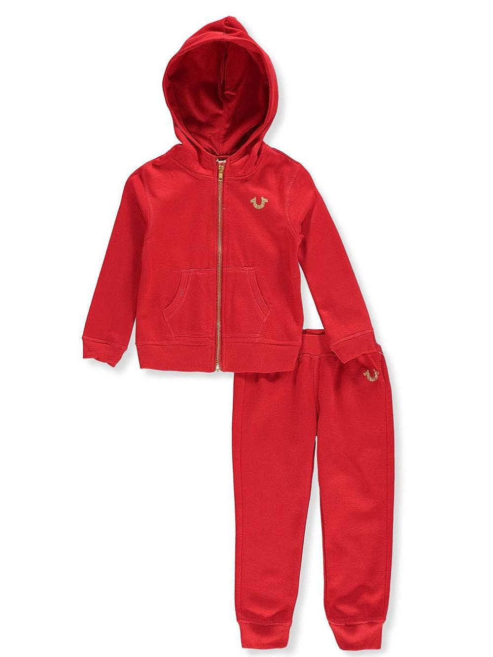 True Religion Girls' 2-Piece Sweatsuit Pants Set