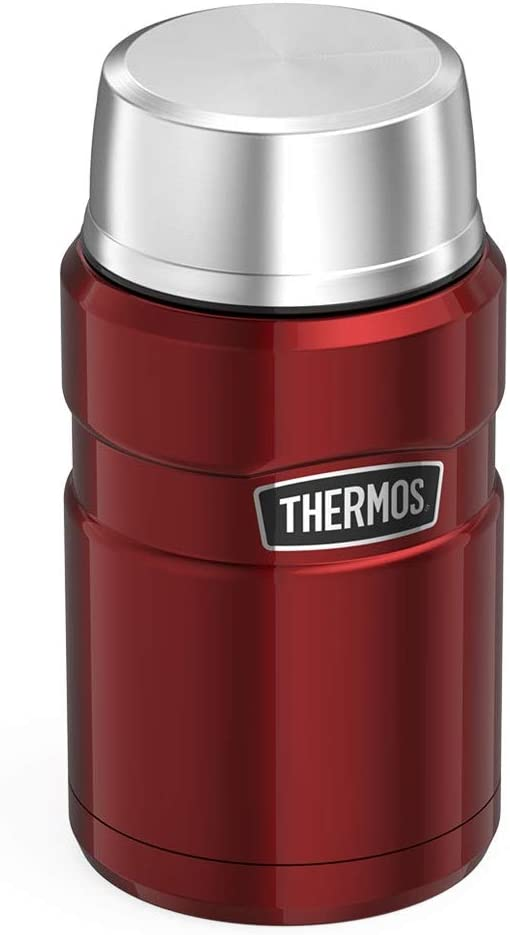 Thermos Stainless King Food Flask 710ml, Cranberry Red