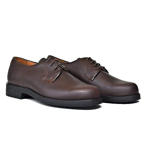 843211e7f1 Botosvalverde Zapato Hombre marrón Cordones Elegante Sencillo Blucher  Valverde del Camino  Amazon.es  Zapatos y complementos