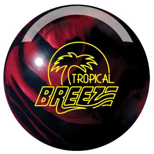 Storm Tropical Breeze Bowling Ball, 16-Pound, Black/Cherry