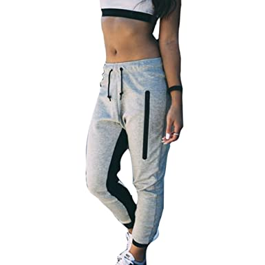 Taille Avec Pantalons Femme Pantalon De Moyenne Cordon Survêtement Pvct7qw