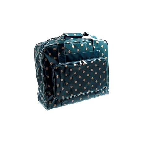 Hobby Gift Bolsa para máquina de Coser PVC: Blue Spot